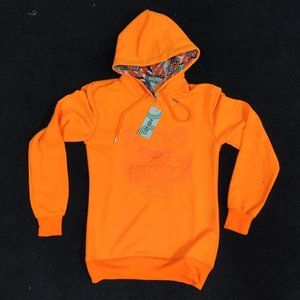Kenzo Orange Tiger Women Hoodie